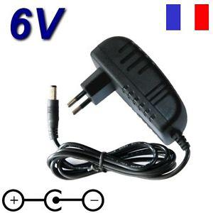 adaptateur 6v
