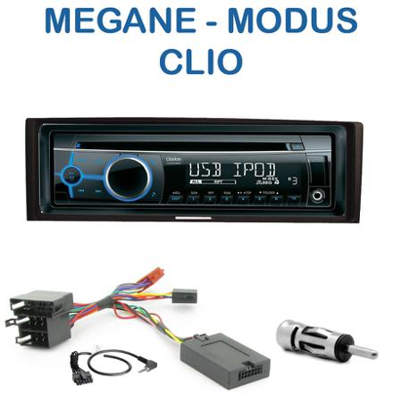 adaptateur autoradio renault megane 2