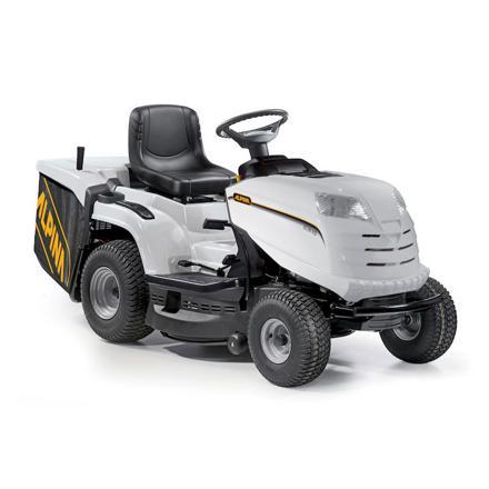 alpina tracteur tondeuse