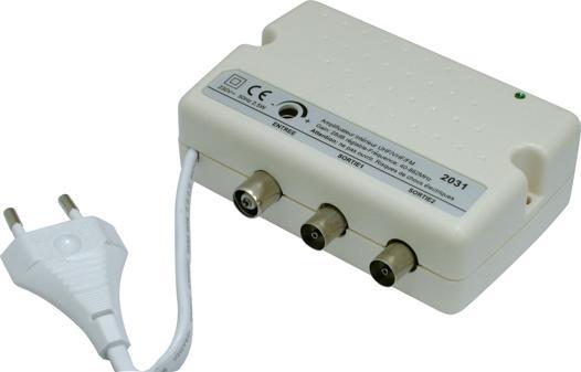amplificateur intérieur