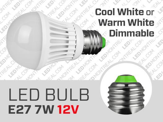 ampoule led 12v e27