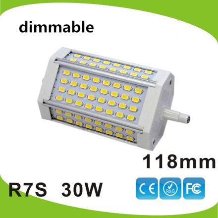 ampoule led r7s 118 mm 30w