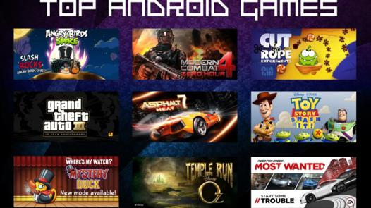 android top jeux