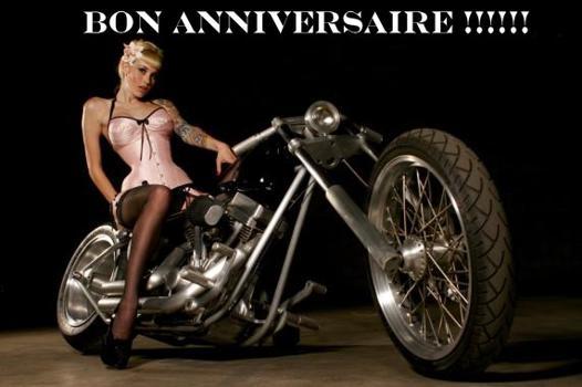 anniversaire biker