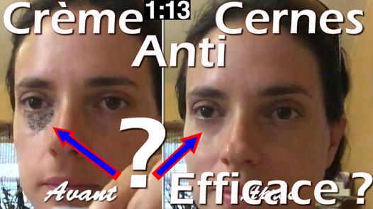 anti cerne et efficace