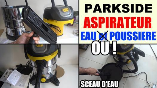 aspirateur parkside 1400w