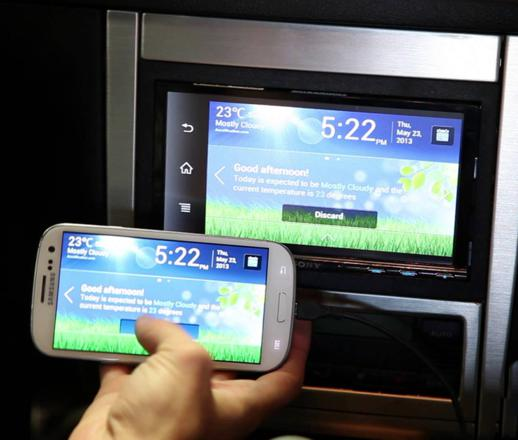 autoradio mirrorlink android