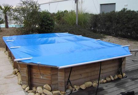 bache de protection pour piscine hors sol