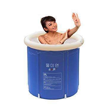 baignoire gonflable pour douche adulte