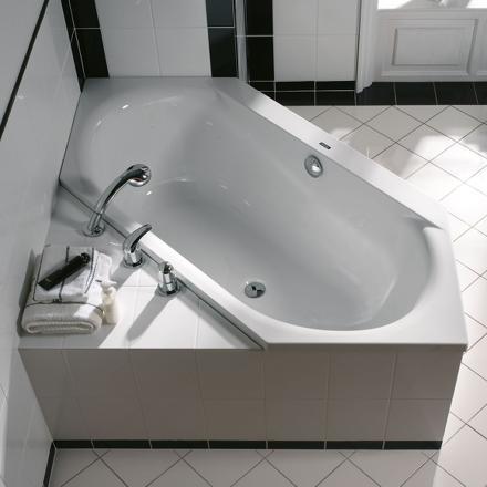 baignoire hexagonale