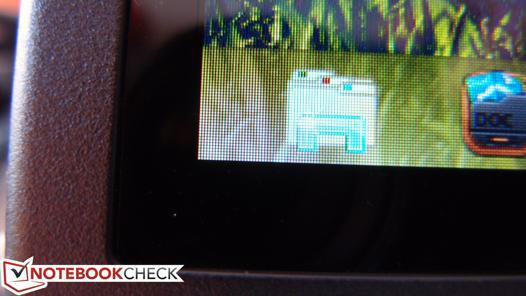 bande noire ecran pc portable