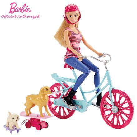 barbie velo chien