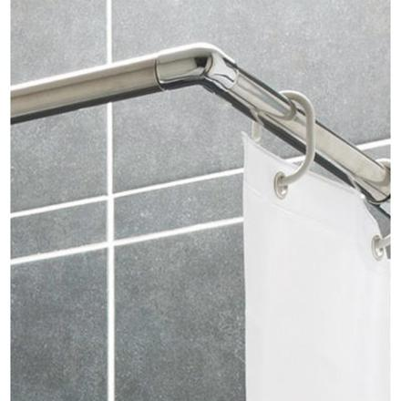 barre de douche rideau