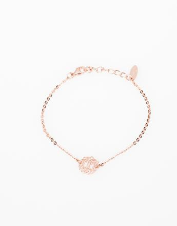 bracelet chaine or rose