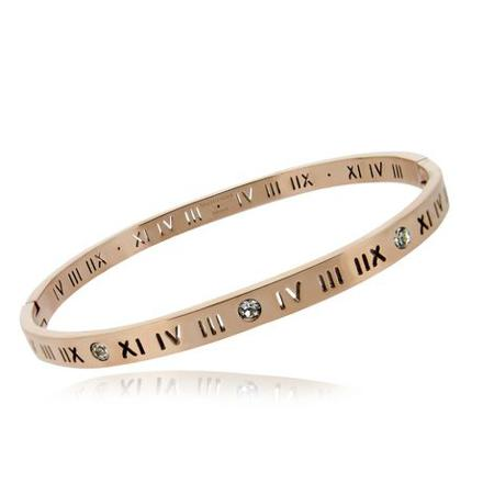 bracelet chiffre romain