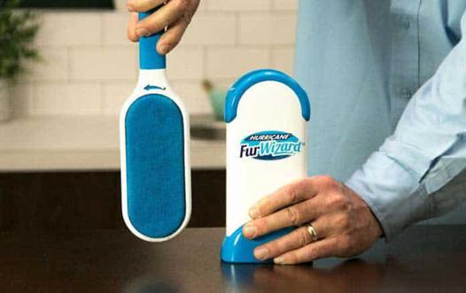 brosse anti poils reutilisable