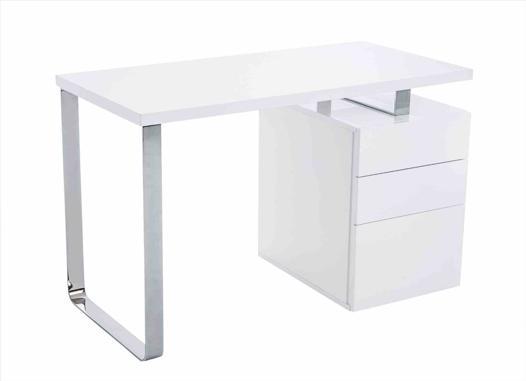 bureau blanc 120 cm