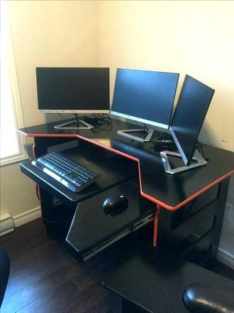 bureau d'angle gaming