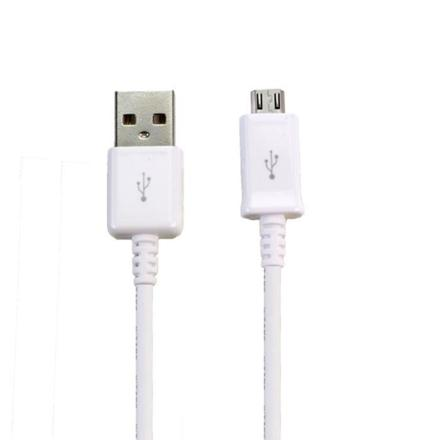 cable micro usb blanc