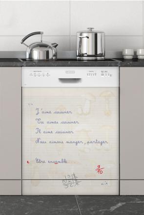 cache lave vaisselle