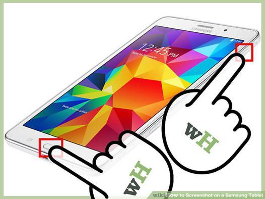 capture d écran samsung tablette