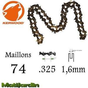 chaine tronconneuse 74 maillons
