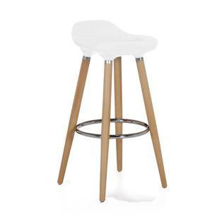 chaise bar blanc
