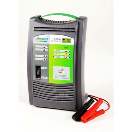 chargeur de batterie feu vert
