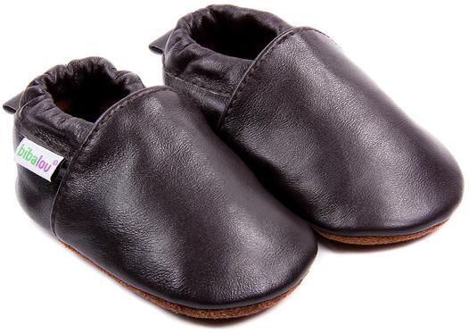 chausson cuir enfants