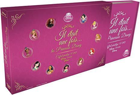 coffret princesse disney dvd