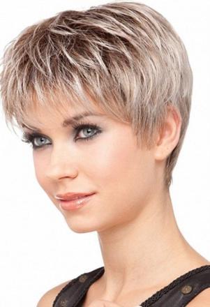 coiffure cheveu court femme