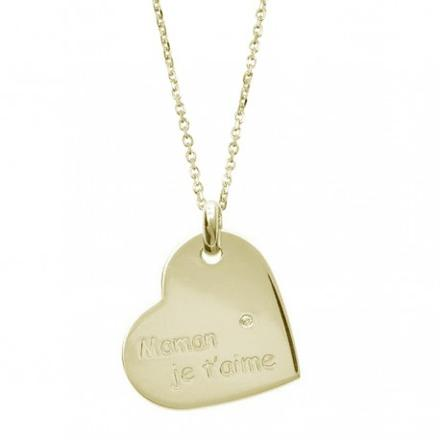 collier maman je t aime