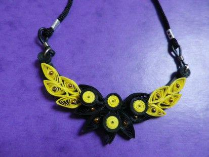 collier quilling