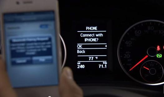 connection bluetooth voiture samsung
