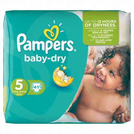 couches pampers taille 5