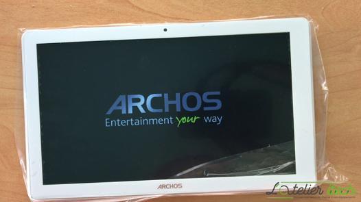 ecran archos 101 platinum 3g