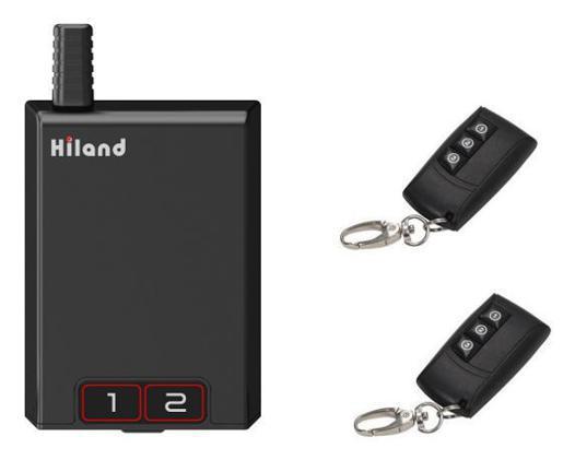 gache electrique sans fil avec telecommande pour portillon