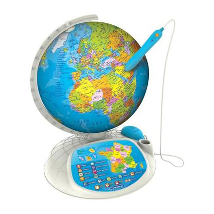 globe terrestre interactif