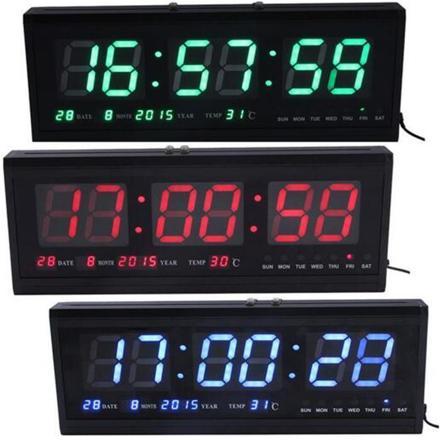 horloge numérique murale