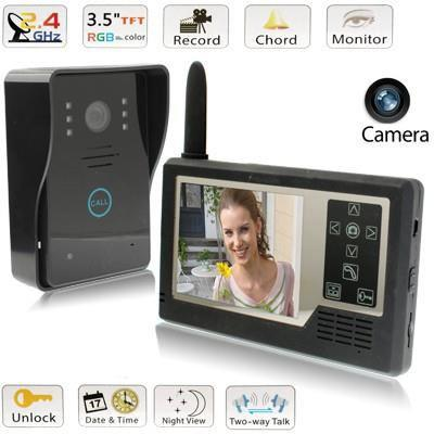 interphone camera sans fil