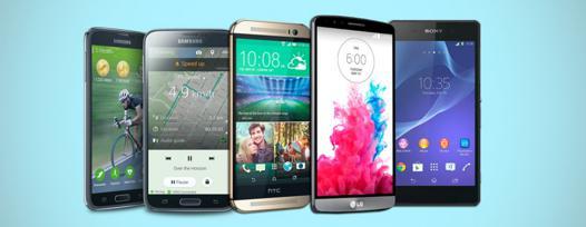 les meilleurs smartphones