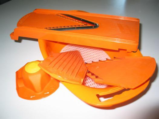 mandoline borner