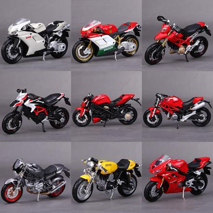 moto miniature 1 18