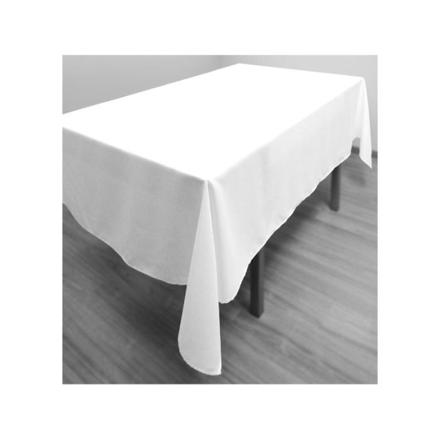 nappe blanche rectangulaire
