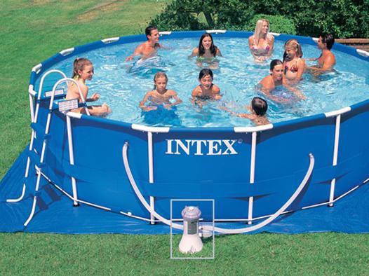 piscine tubulaire 4.57 x 1.22