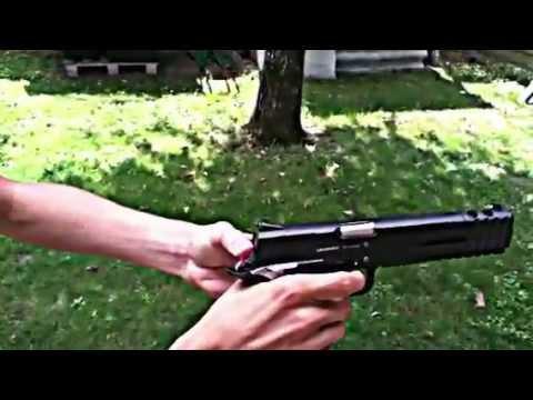 pistolet a bille en metal puissant