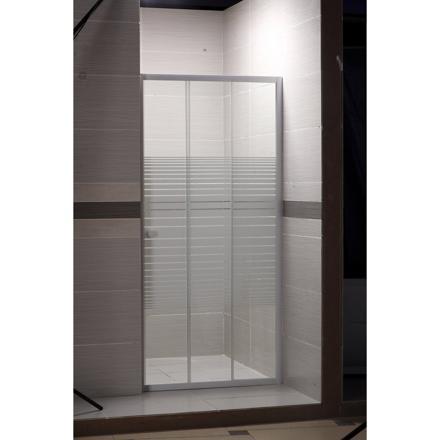 porte de douche coulissante 90