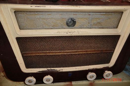 poste radio année 50