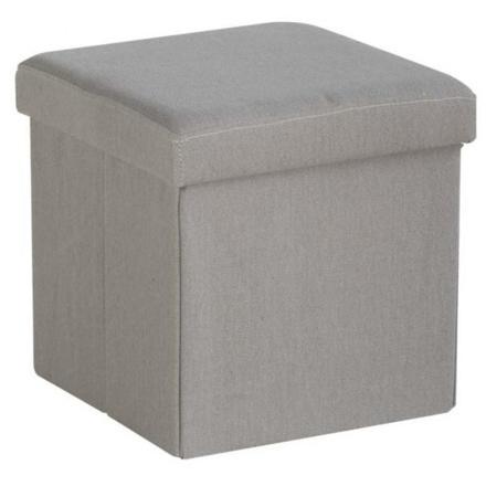 pouf coffre rangement