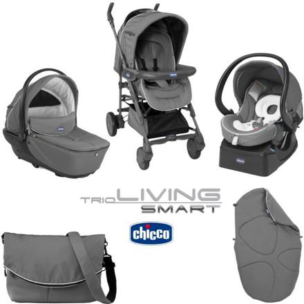 poussette chicco trio smart